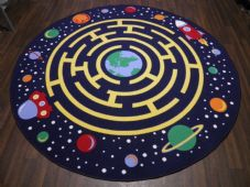 200CMX200CM SPACE RACE RUGS/MATS HOME-SCHOOL EDUCATIONAL NON SILP BEST SELLER